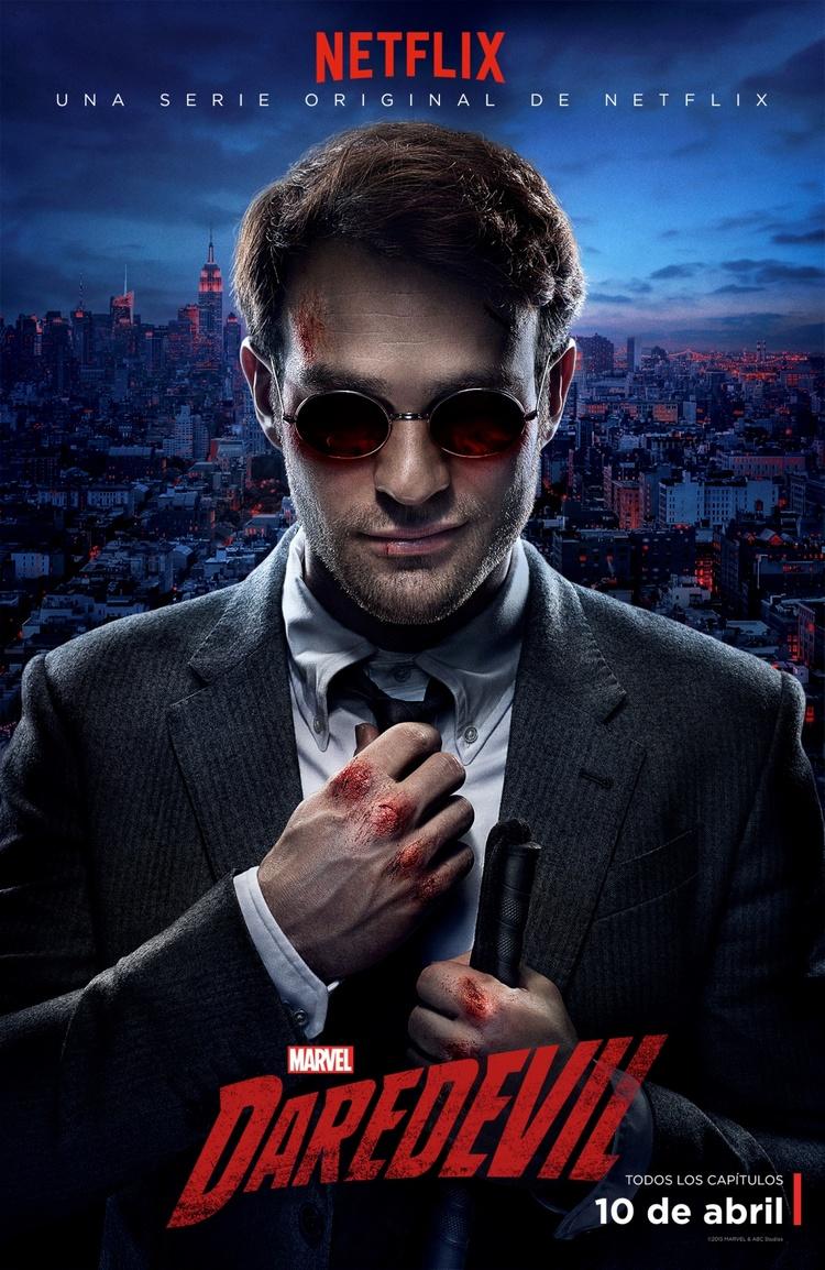 Netflix presenta el nuevo afiche oficial de Marvel's Daredevil