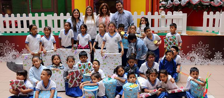 Mall del Sur ofreció agasajo a niños celebrando el Día de Reyes, Mall del Sur ofreció agasajo, mall del sur, Día de Reyes, dia de reyex